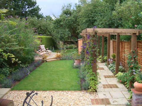 andrew coates garden design - Garden Design Long Thin